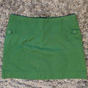 Retro Mini Skirt with Pockets